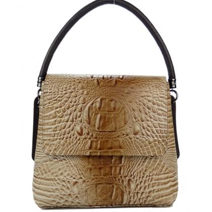 Дамска бежова чанта