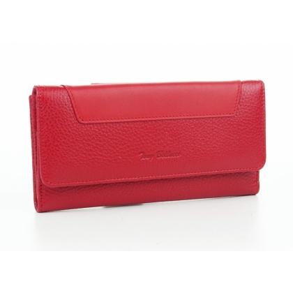 Двулицево дамско портмоне, Голямо, Червено, 885