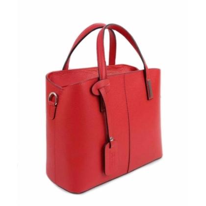 Дамска бизнес чанта, Червена,1354-5