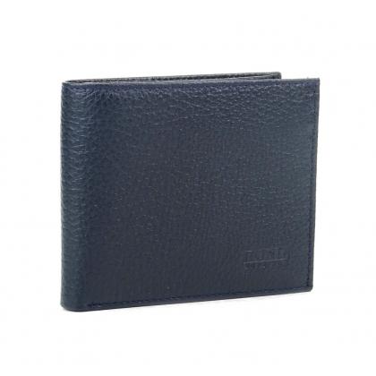 Тънко мъжко портмоне, Тъмно синьо, 567