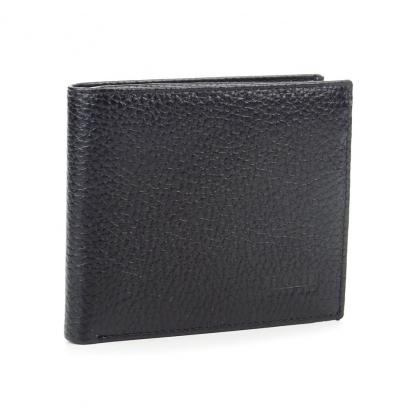Малко черно портмоне, Естествена кожа, 567-2