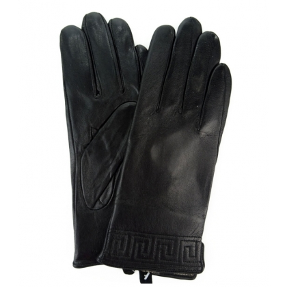 кожени ръкавици с вълнена подплата