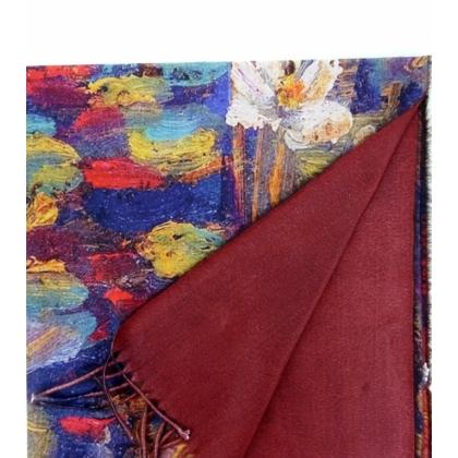 Двустранен дамски шал