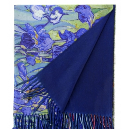 Двустранен дасмки шал
