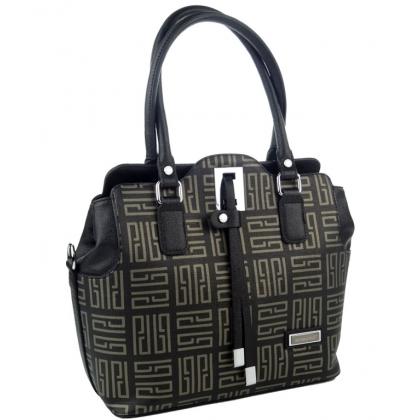 Стилна дамска чанта от еко кожа