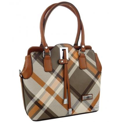 Стилна чанта от еко кожа 550-3