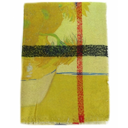 Двулицев кашмирен шал, На слънчогледи, 1041-4