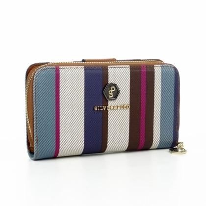 Пъстроцветно дамско портмоне Silver Polo