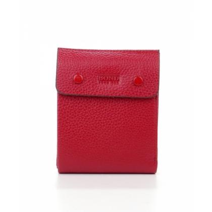 Червен вертикален портфейл