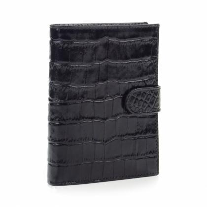 Чвертикален мъжки портфейл