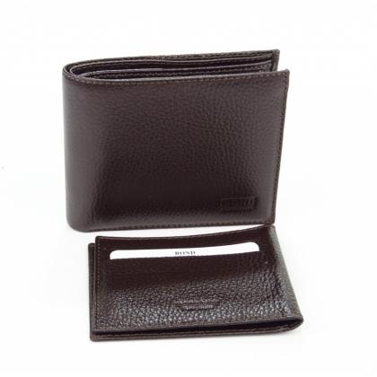Кафяв мъжки портфейл