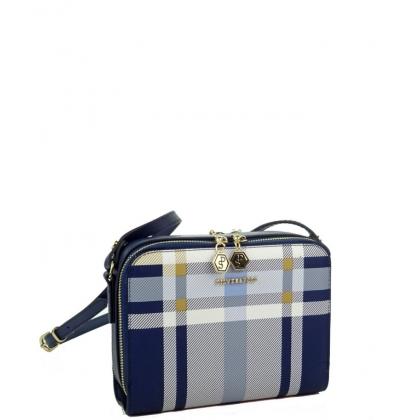 Дамска чанта Silver Polo от еко кожа 888