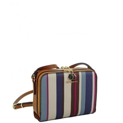 Дамска чанта Silver Polo от висококачествена еко кожа 888-1