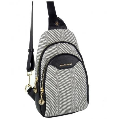 Чанта тип раница за през гърди и рамо 905-1