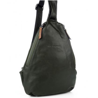 Мъжка чанта-раница от естествена кожа B2465