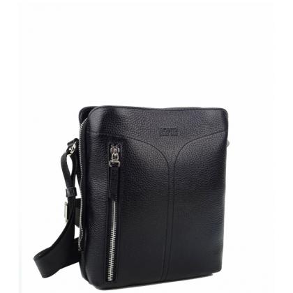 Мъжка чанта за през рамо от естествена кожа B1019