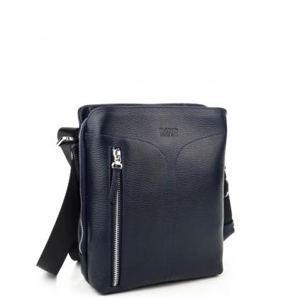 Елегантна мъжка кожена чанта