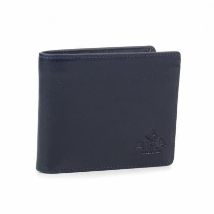Син мъжки портфейл