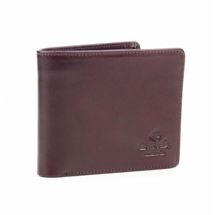 Тъмнокафяв мъжки портфейл за документи, 1121-1