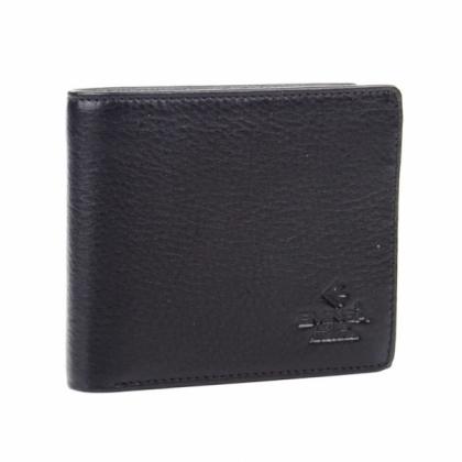Мъжки кожен портфейл за документи, Черен, 1121-2