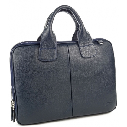 Мъжки бизнес чанта от естествена кожа B1320-1