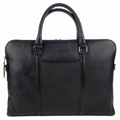 Стилна мъжка чанта тип бизнес от естествена кожа TB25773