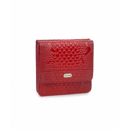 Малък дамски портфейл, Червен, 753-1