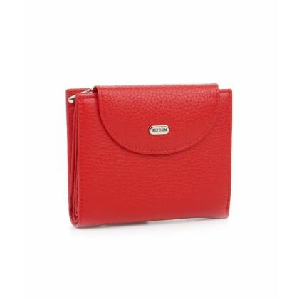 Малко дамско портмоне, Червено, Монетник с цип, 755-1