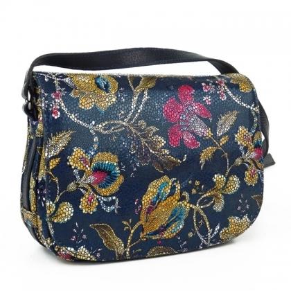 Чанта от естествена кожа за през рамо 4847-4