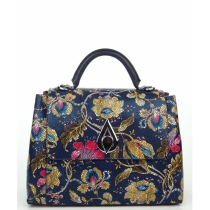 Красива кожена чанта