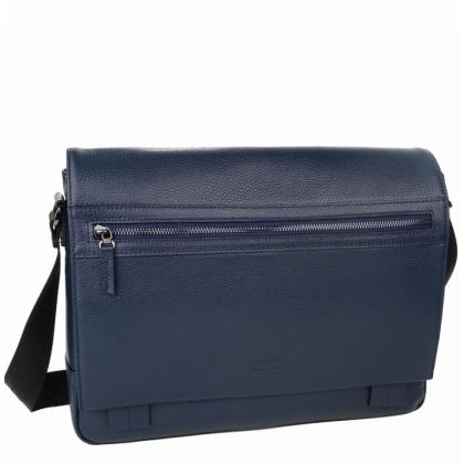 Компактна куриерска чанта, синя 2219B-1