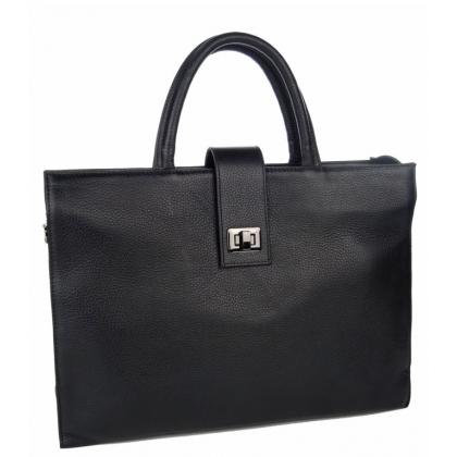 Бизнес чанта за документи от естествена кожа, B3047