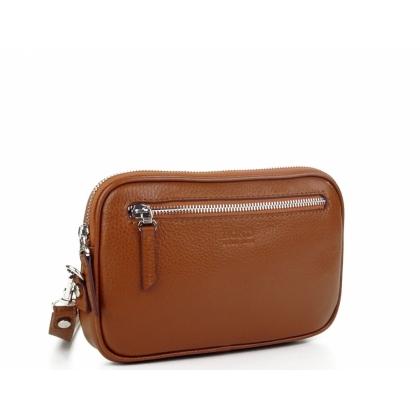 Мъжка чанта за ръка от естествена кожа