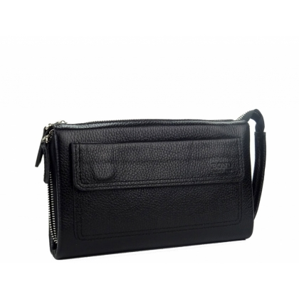 Мъжка чанта от естествена кожа за ръка B1389
