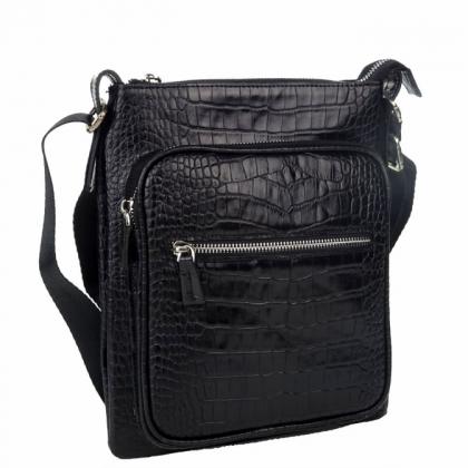 Мъжка чанта от естествена кожа B5105