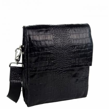 Мъжка чанта от естествена кожа B1363