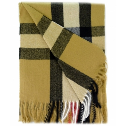 Кариран дамски шал