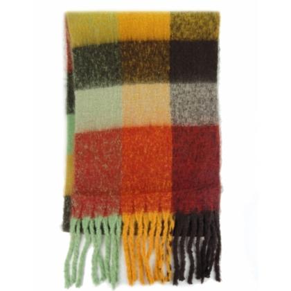 Вълнен дамски шал