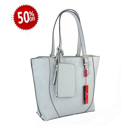 Дамска чанта Pierre Cardin в светло син цвят 3412