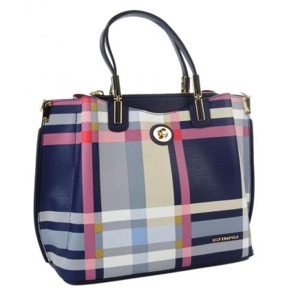 Дамска чанта от еко кожа Silver Polo 953