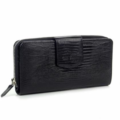 Голямо черно портмоне