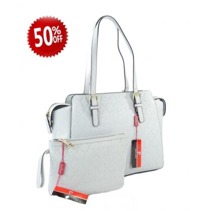 Подаръчен комплект чанта и несесер Pierre Cardin 1KPC