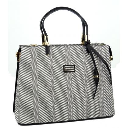 Дамска чанта Silver Polo от еко кожа, 924-2