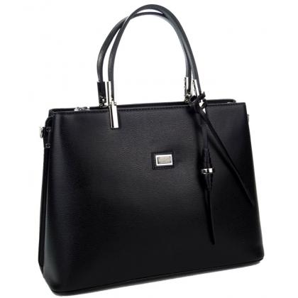 Дамска чанта Silver Polo от еко кожа, 924-5