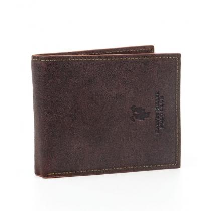Мъжки кожен портфейл в кафяво 1288-1
