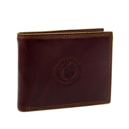 Мъжки кожен портфейл в кафяво 1792-1