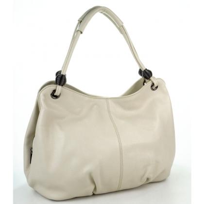 Мека дамска чанта от естествена кожа T3288