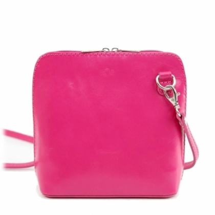 Малка дамска чанта фукси