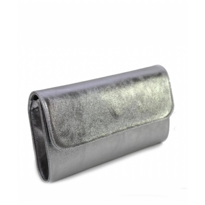 Сребриста малка чанта