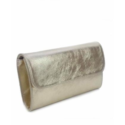 Златиста дамска кожена чанта, Тип Плик, 1933-2